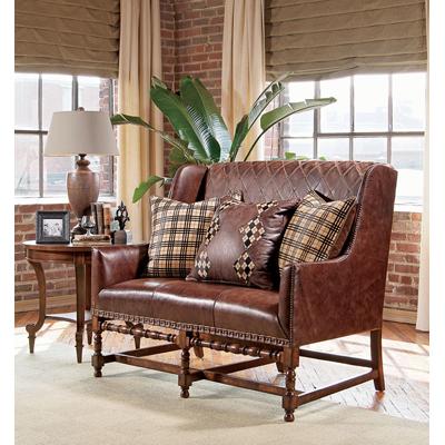 Century Woodson Love Seat