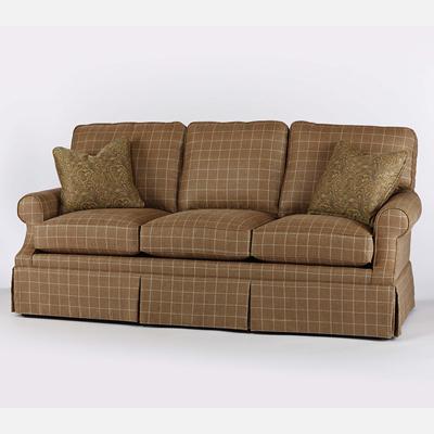 Century ltd5163 2sk elegance deer valley skirted sofa for Affordable furniture 2 go ltd blackpool