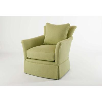 Century Pratt Skirted Swivel Chair