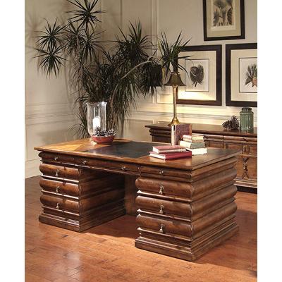 Century Seven Drawer Desk