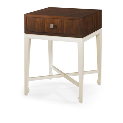 Century Baise Chairside Table