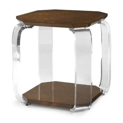 Century Dabu Chairside Table