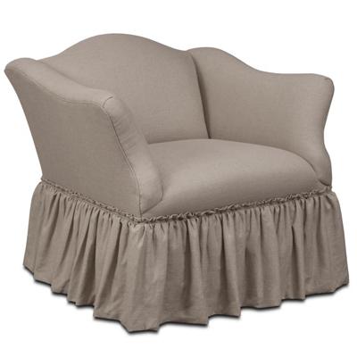 Century Whitney Skirted Chair