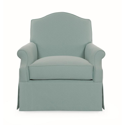 Century I2 11 1026 Charlotte Moss Mobile Arm Chair Discount Furniture At Hickory Park Furniture