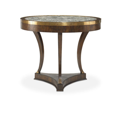 Century Croix Rousse Table with Stone Top