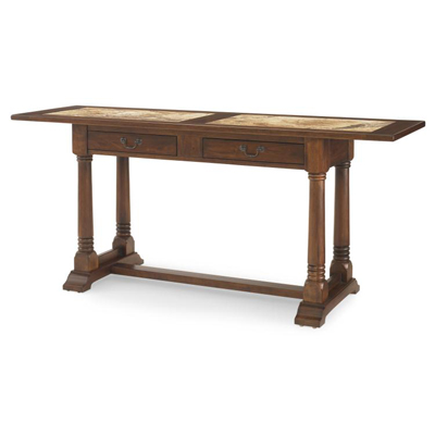 Century Hobcoe Console Table With Marble