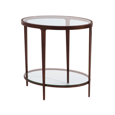 Charleston Forge Ellipse End Table