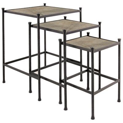 Charleston Forge Nesting Tables set of 3