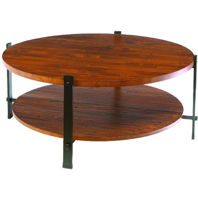 Charleston Forge Timber Round Cocktail Table