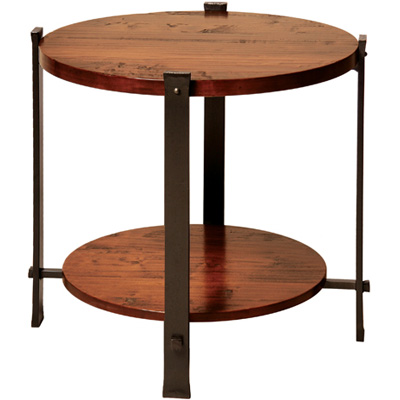Charleston Forge Timber Round End Table