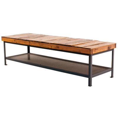 Charleston Forge Warehouse 72 inch Cocktail Table