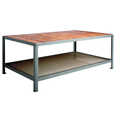 Charleston Forge Warehouse Rectangular Cocktail Table