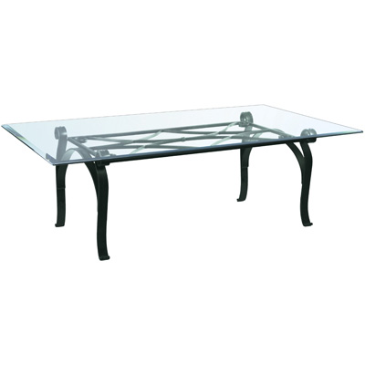 Charleston Forge Camino Rectangular Cocktail Table