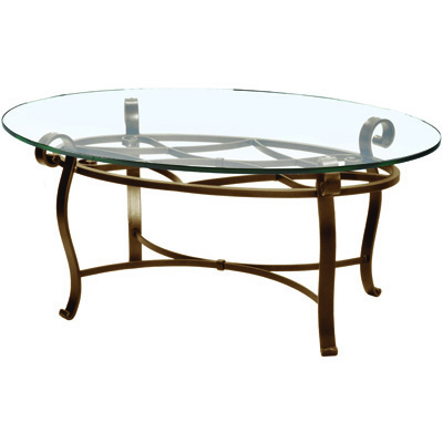 Charleston Forge Camino Oval Cocktail Table