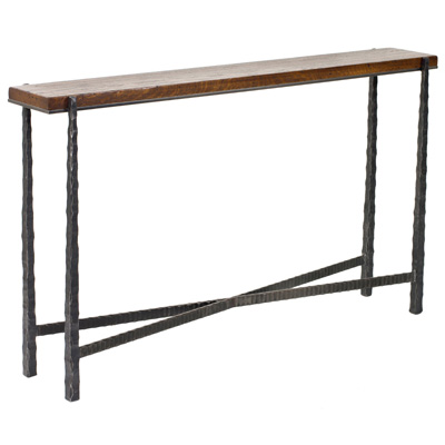 Charleston forge 9091 console parsons 60 inch table for Charleston forge furniture