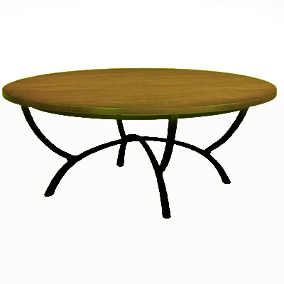 Charleston Forge Hudson 50 inch Round Cocktail Table