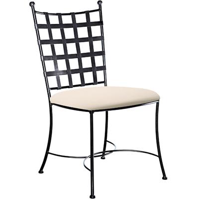 Charleston Forge Etrusche Side Chair