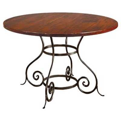 Charleston Forge Euro Round Dining Table