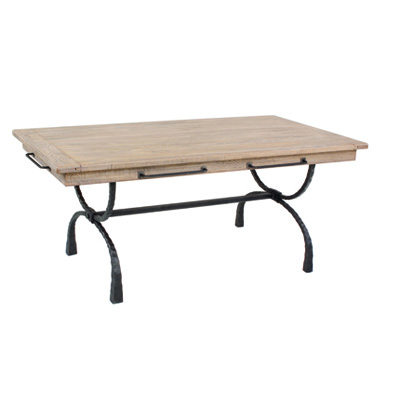 Charleston Forge Legacy Dining Table with Napkin Bars