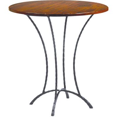 Charleston Forge Hudson 36 inch Round Pub Table Bar Height