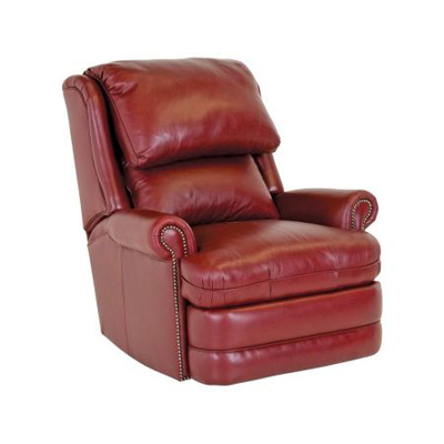 Classic Leather Swivel Glider Recliner