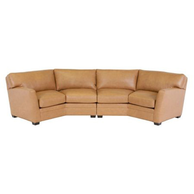 Classic Leather Fletcher Sectional