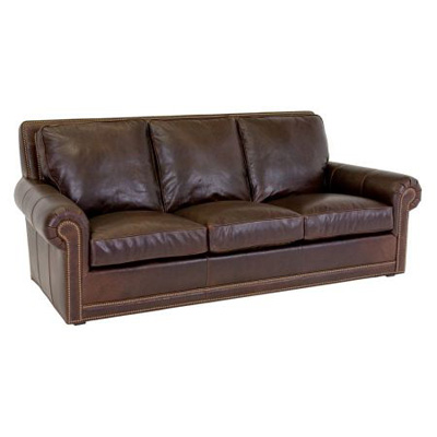 Classic Leather Coolidge Sofa