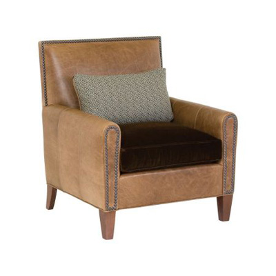 Classic Leather Hopalong Chair