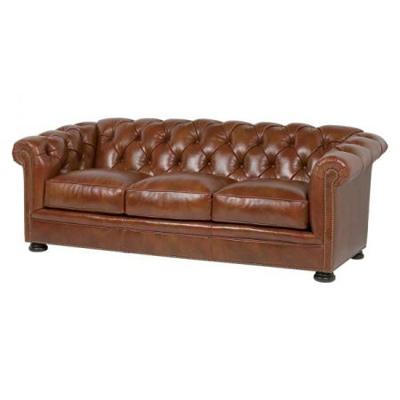 Classic Leather 1384 Sofas Tufted Montclair Sofa Discount Furniture At Hickory Park Furniture