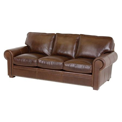 Classic Leather 3518 Sofas Kirby Sofa Discount Furniture at Hickory ...
