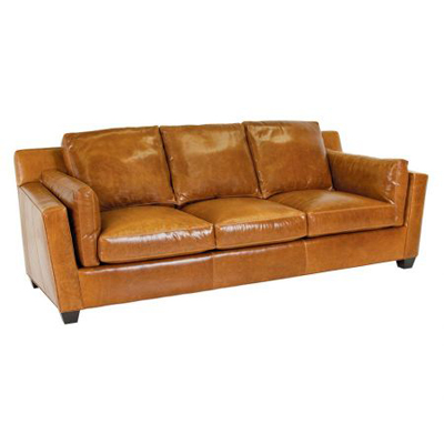 Classic Leather Cahner Sofa