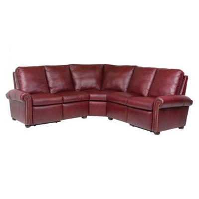 Classic Leather Kenilworth Reclining Sectional