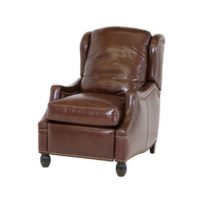Classic Leather Palmer Low-Leg Recliner