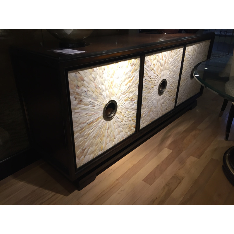 Sonoma Credenza Sna10 1 Marge Carson Sale Hickory Park Furniture Galleries