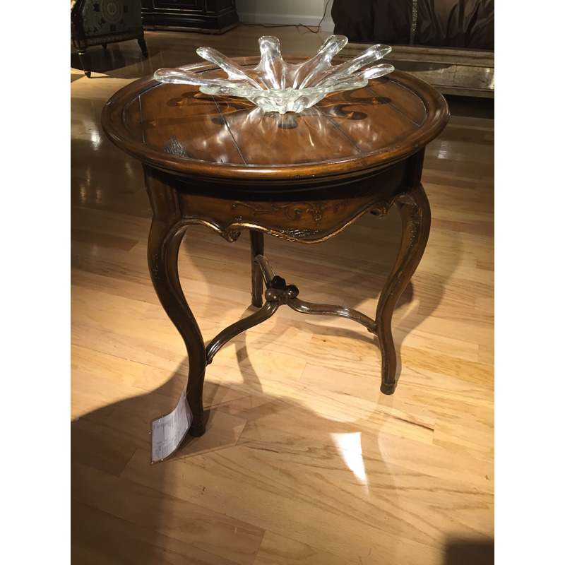Les Marches Chairside Table Lem30 1 Marge Carson Sale