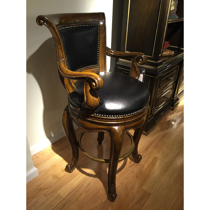 Lorie Bar Stool Le47 29 Marge Carson Sale Hickory Park Furniture Galleries