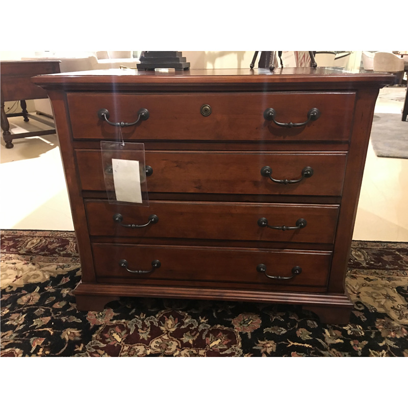 Weathered Cherry Executive Lateral File Hekman