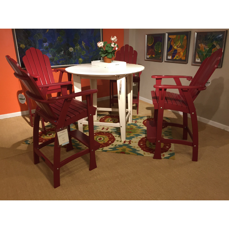 Outdoor Patio Furniture Hickory Nc: Table And Stools AD-11, AD-05R Fishtales Sale Hickory Park