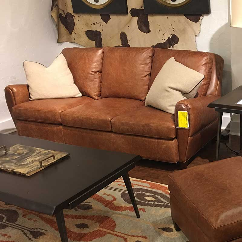 Renee Leather Sofa Hancock and Moore