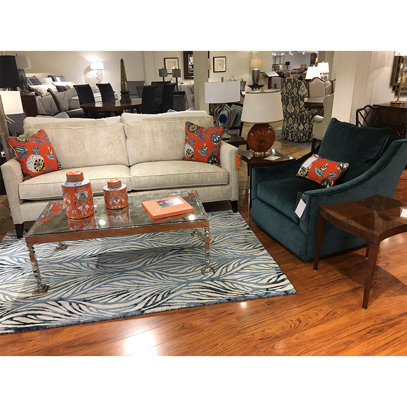 Closeout Furniture Store: Sofa ESN216-2 Century Sale Hickory Park Furniture Galleries