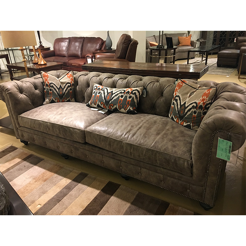 Sectional Sofa Sale Houston: Houston Sofa 1298 Classic Leather Sale Hickory Park