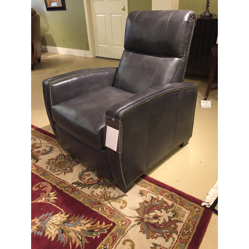 Thompson Low Leg Leather Recliner 8701 Classic Leather