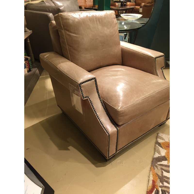 Leather Landau Chair 1622 Classic Leather Sale Hickory