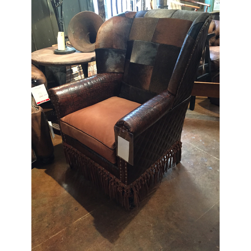 Leather Chair 6630 Old Hickory Tannery Sale Hickory Park