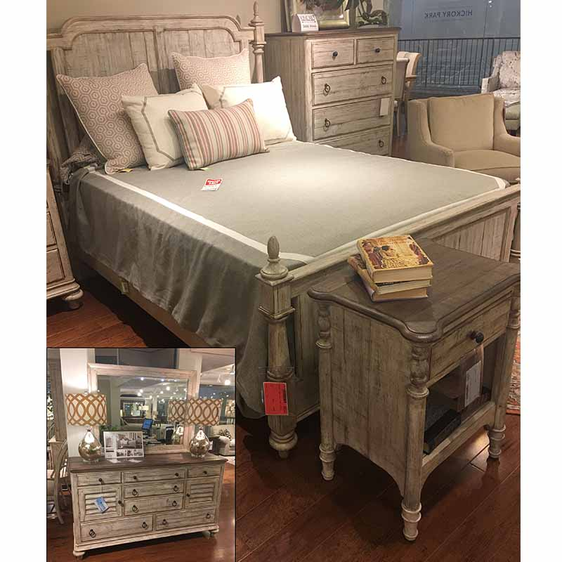 Weatherford Open Nightstand Cornsilk Kincaid