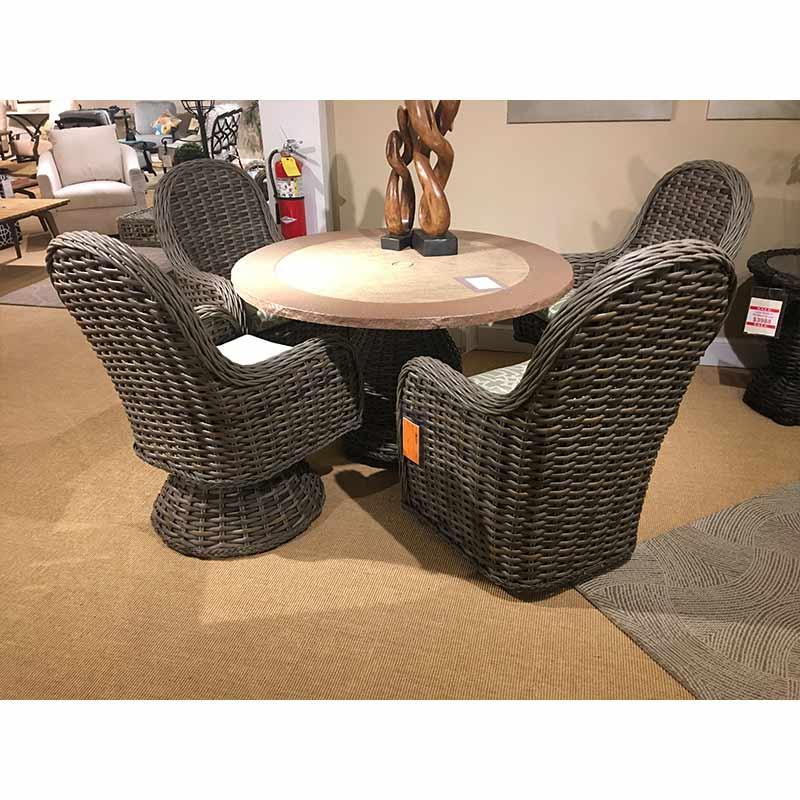 South Hampton Stationary Arm Chair Lane Venture
