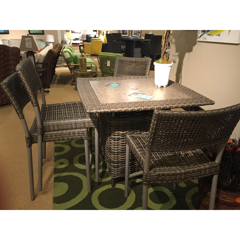 Outdoor Patio Furniture Hickory Nc: Table And Stools 9539-45,539-43 Lane Venture Sale Hickory