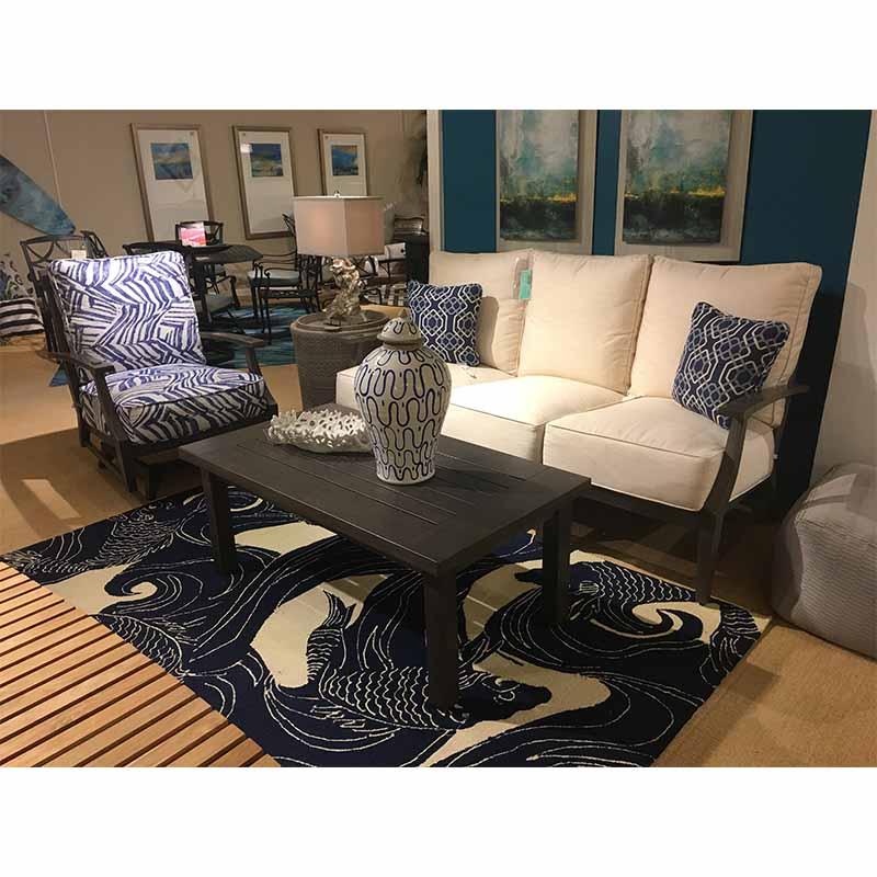 Croquet Aluminum Spring Lounge Chair Summer Classics