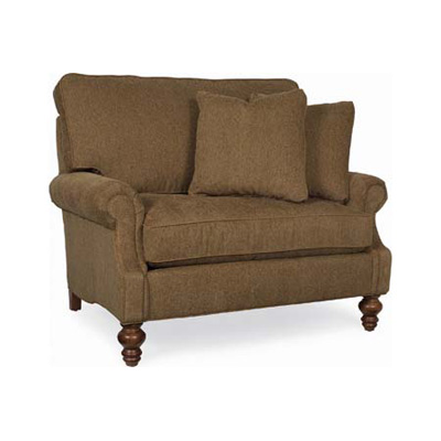 Cr laine cd8705r chair chaise design roll arm panel chair for Chaise and a half