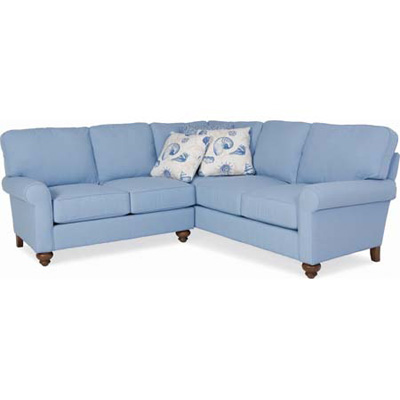 CR Laine 772 Series Sectional Bayside Sectional Discount